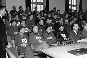 Malmedy Massacre defendants await sentencing, July 1946