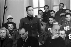 Malmedy Massacre Trial: Joachim Peiper at U.S. Military Tribunal Dachau, May 1946