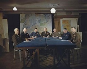 SHAEF Leadership, London HQ, early 1944