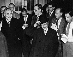 Nomura and Kurusu after meeting FDR, November 27, 1941
