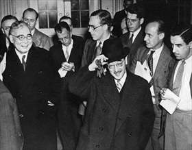 Nomura and Kurusu at White House, November 27, 1941
