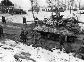 Operation Nordwind: Allied advance on Colmar Pocket, January 1945