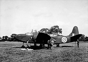 Operation Fortitude: Dummy aircraft modeled on the Douglas A-20