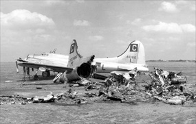 Operation Frantic: Eighth Air Force remains, Poltava, June 1944