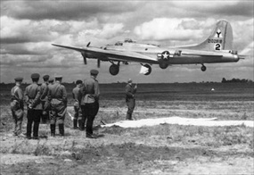 Operation Frantic: First B-17s land at Poltava, June 2, 1944