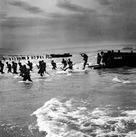 Operation Torch: Storming unnamed beach, November 8 1942