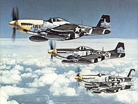 Aircraft of U.S. Eighth Air Force: North American P-51 Mustangs