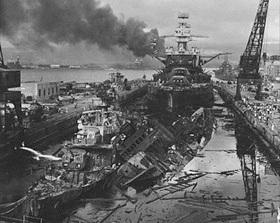 USS Pennsylvania, December 7, 1941