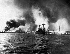 USS California, December 7, 1941
