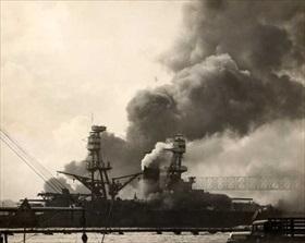 USS Nevada, December 7, 1941