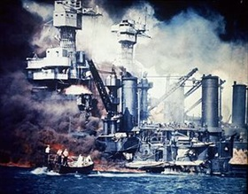 USS West Virginia, December 7, 1941