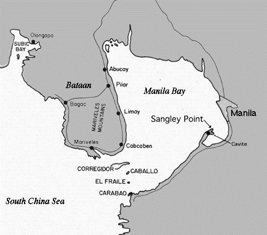 Map of Luzon Island