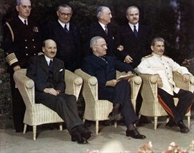 Potsdam Conference participants, July–August 1945