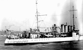 USS Reuben James, 1939