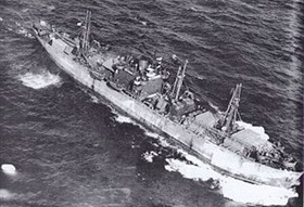 "Mustard gas tragedy: Liberty ship similar to ""John Harvey"""