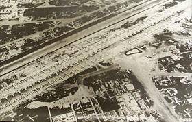 Isley Field on Saipan, mid-1945