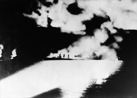 First Battle of Savo Island, USS Quincy sinking