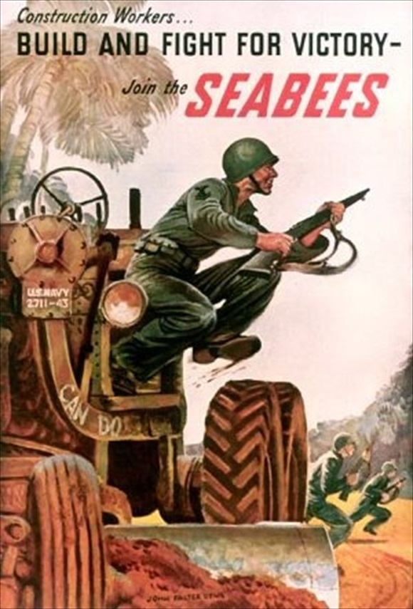 Seabee recruiting poster