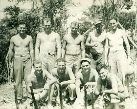 Seabees in South Pacific
