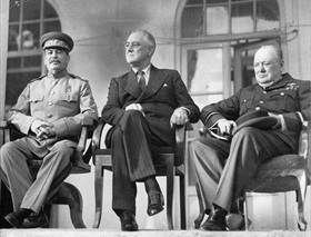 Tehran Conference participants, November–December 1943