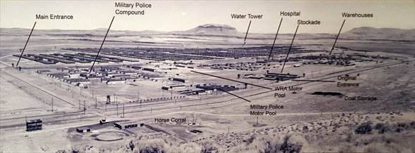 Japanese American internment: Tule Lake Relocation/Segregation Center