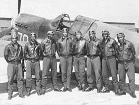 Tuskegee Airmen, Southern Italy or North Africa