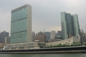 U.N. headquarters, New York City