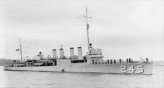 Iceland during World War II: USS Reuben James