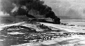 Wake Island airfield, December 1941