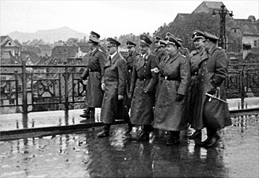 Yugoslavia in World War II: Hitler in Marburg an der Drau (Maribor), Yugoslavia, 1941