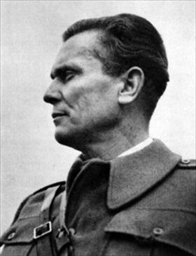 Yugoslav Marshal Josip Broz Tito, 1942