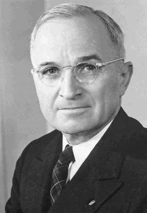 Harry S. Truman, 1884–1972
