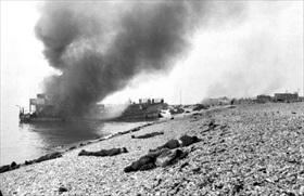 Dieppe beach, August 19, 1942